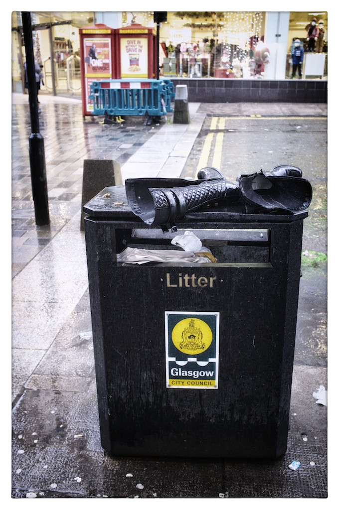 The Glasgow Batman has given up