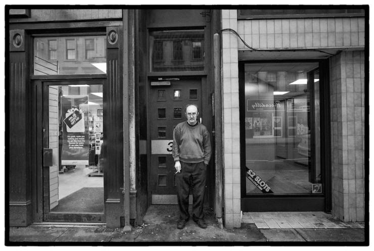 Glasgow man and Glasgow Eyeball