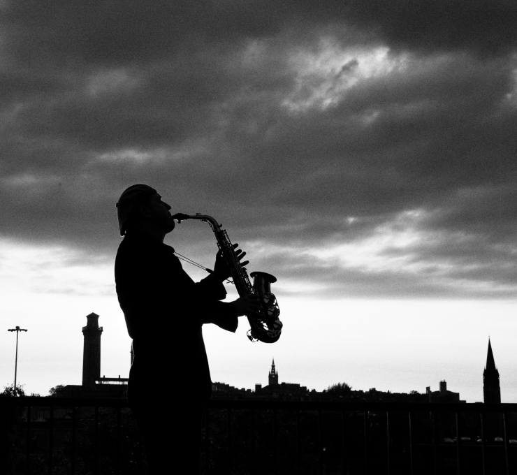 GLASGOW SAXOPHONE PLAYER CRAIG NELSON