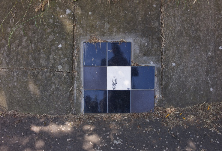 Tiles in odd place