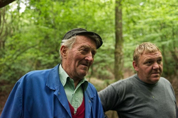 mushroom pickers in country 210