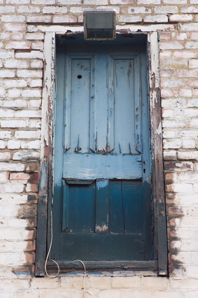 the doorway down the lane