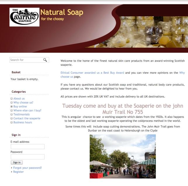 caurnie soap